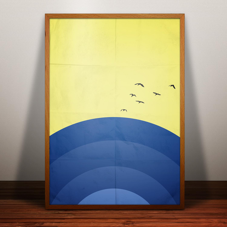 Плакат «Рассвет» (antomal.com™ ©)