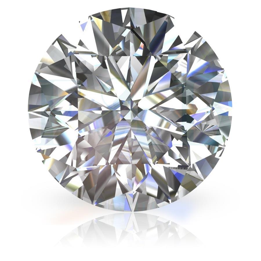 Муассанит в сравнении с фианитом и бриллиантом