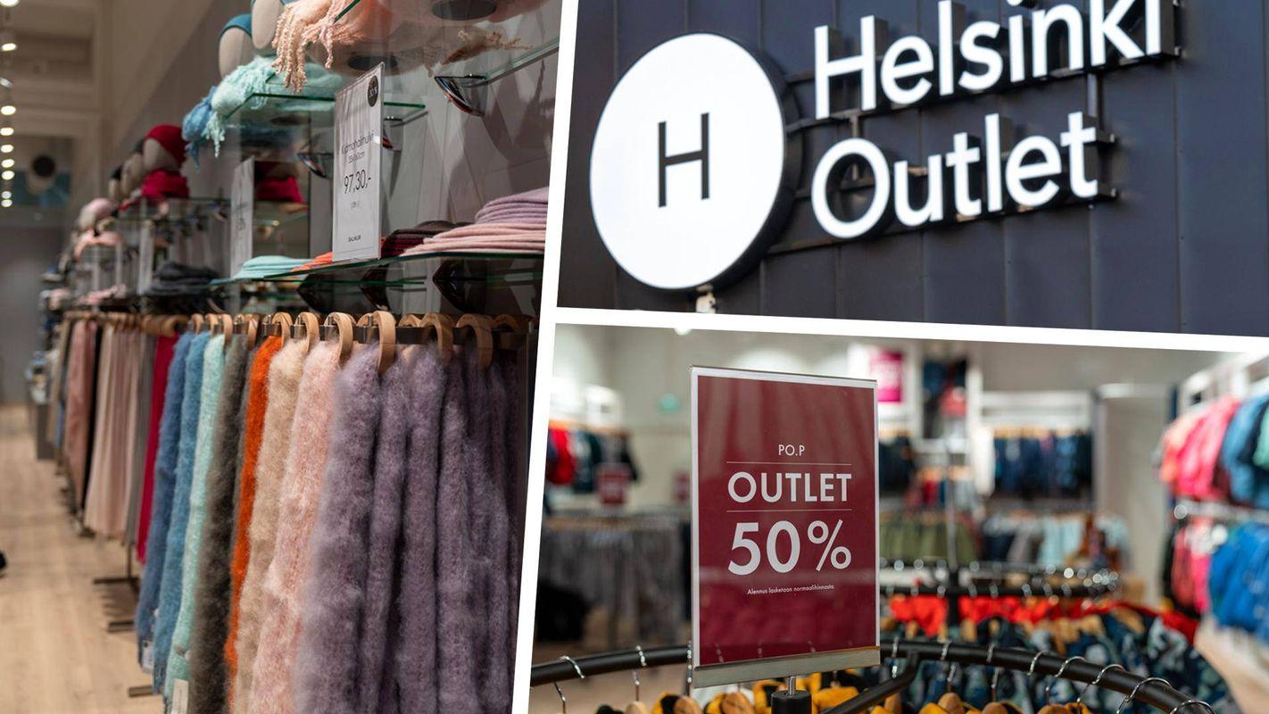 Магазин одежды в Хельсинки Outlet