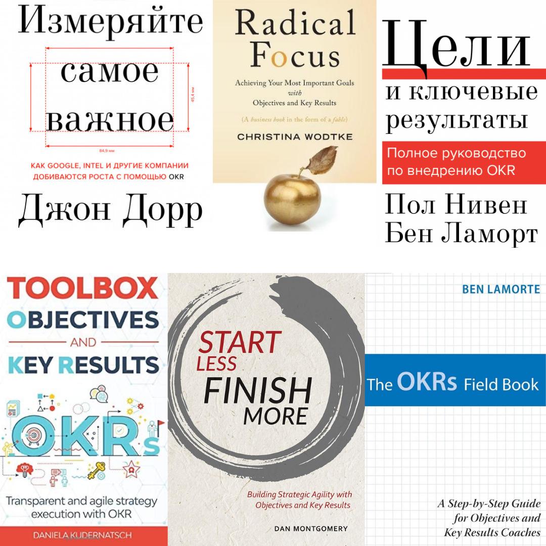 Книги по OKR