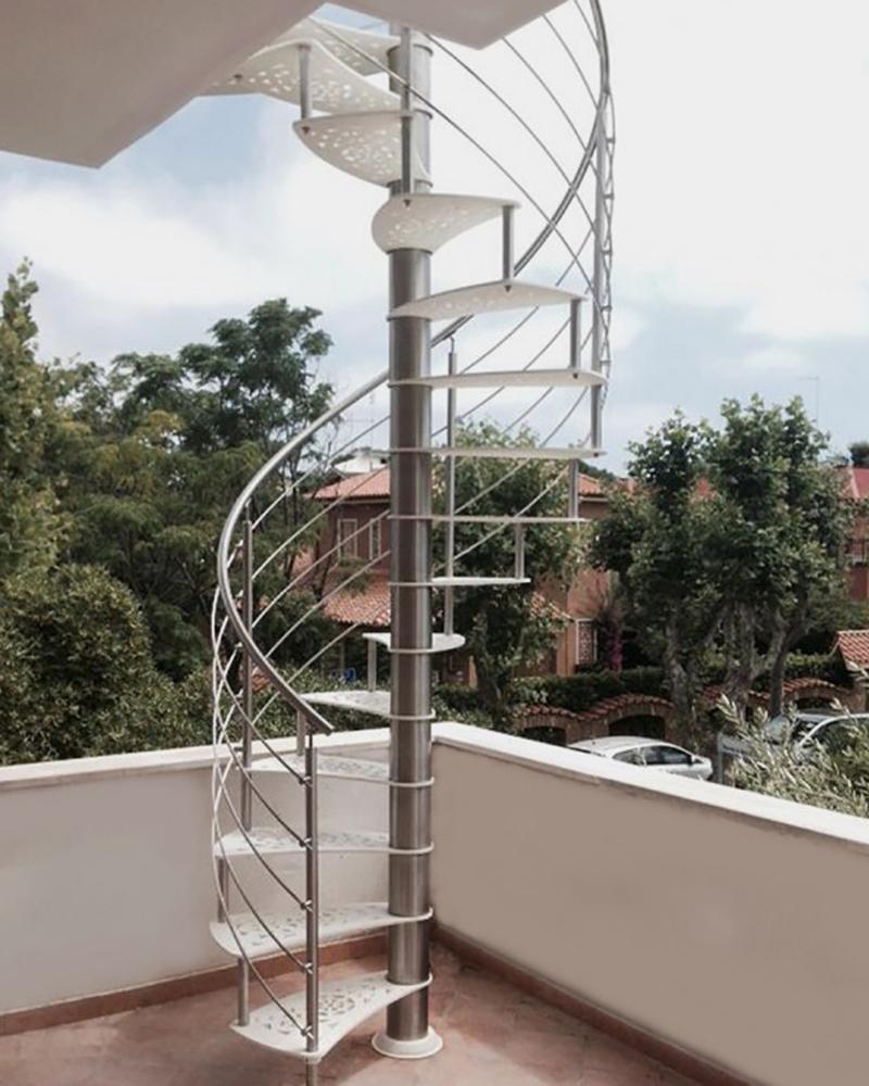Лестница для уличной установки