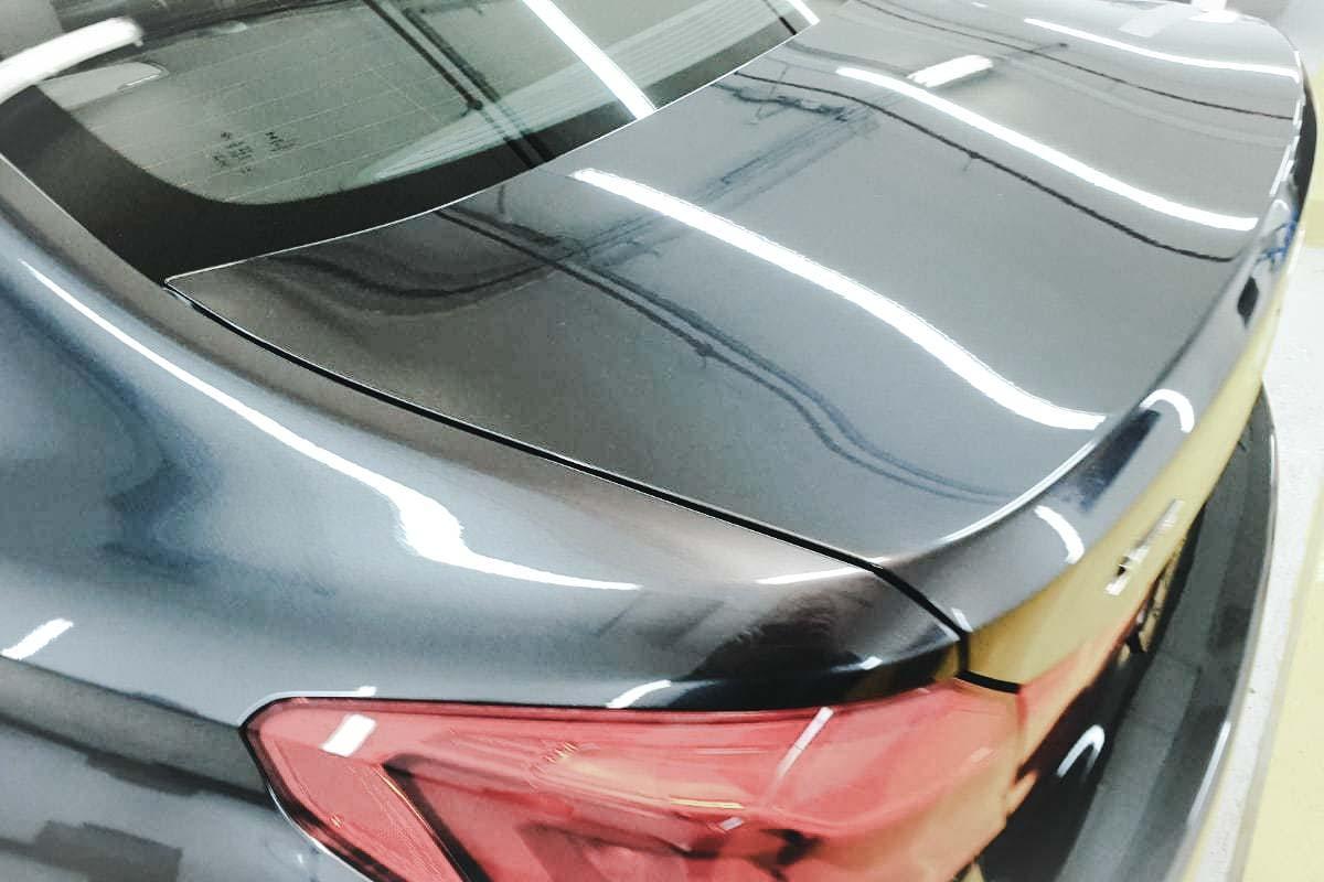 оклейка авто защитной пленкой с полировкой и керамикой