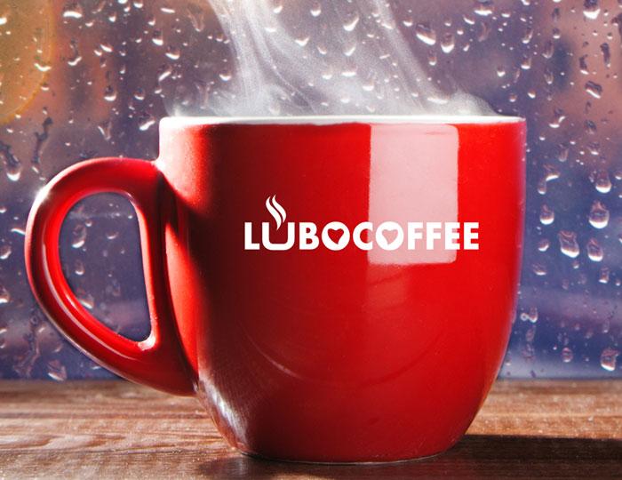 Пример логотипа - кофейня «Lubocoffee»