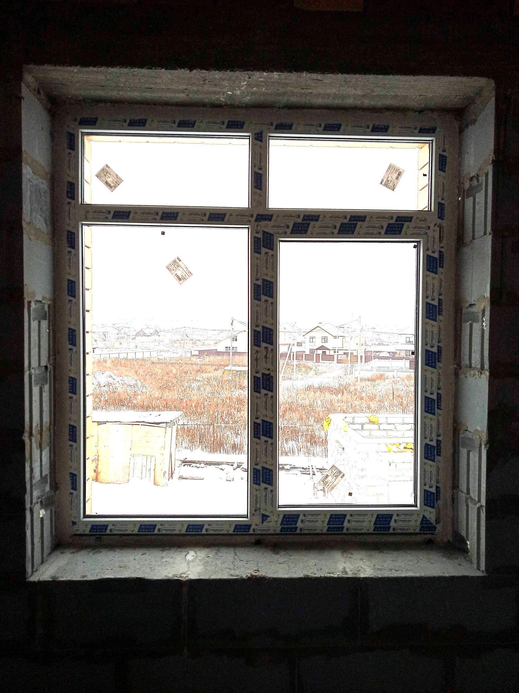 Остекление коттеджа Комфортное окно