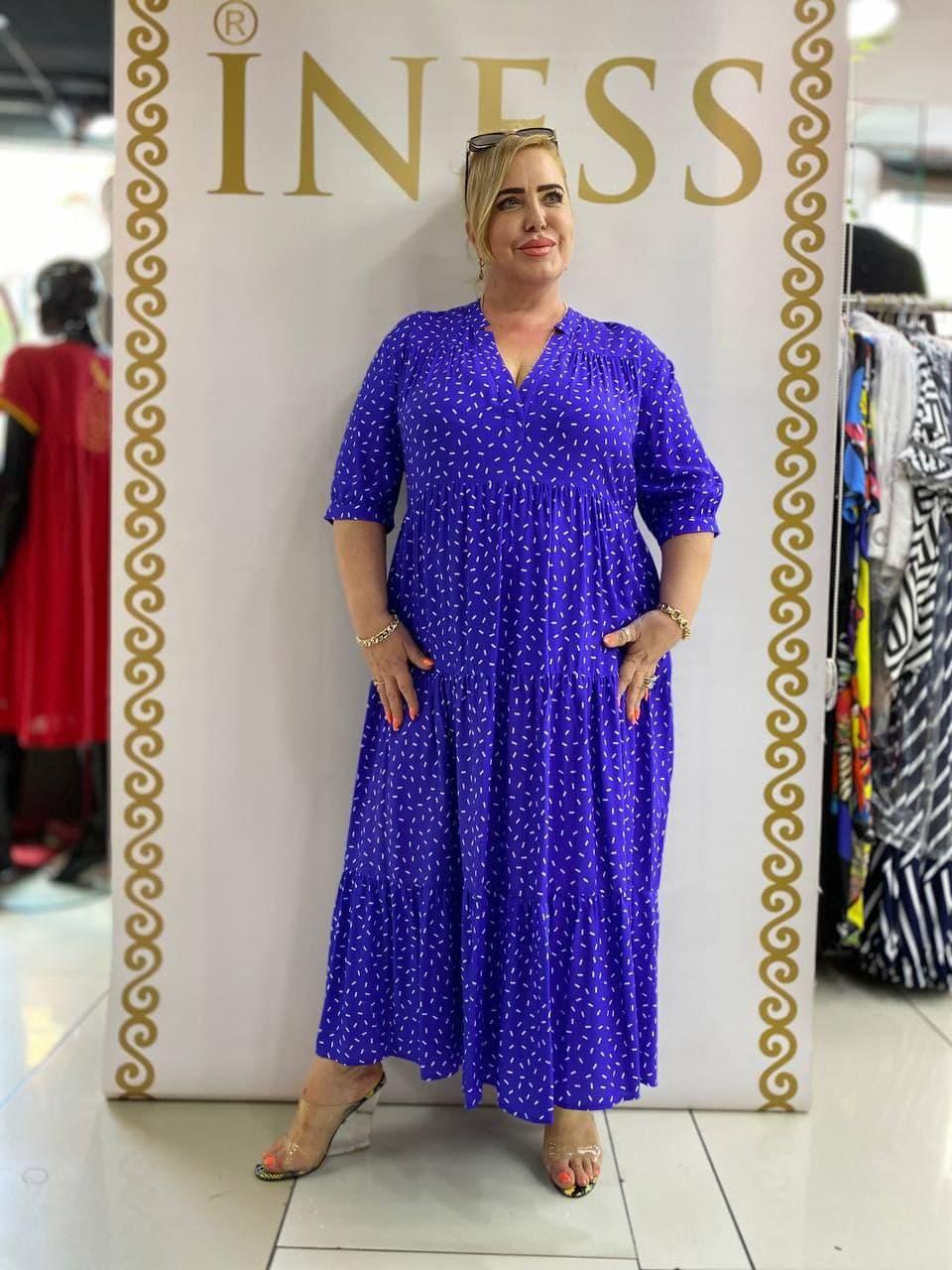 Брендовое платье большого размера