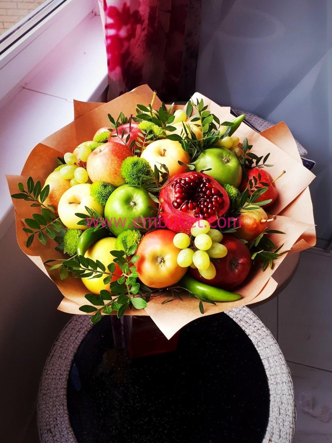 Красивый букет, пермь букеты из фруктов