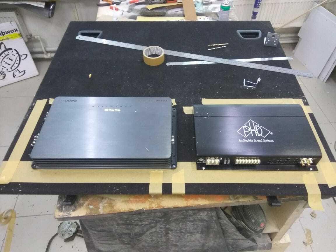установка новых усилителей в рендж ровер спорт 2