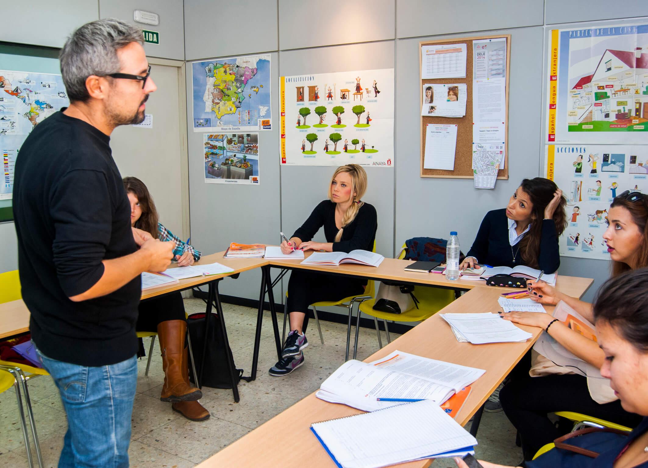 школы испанского в испании