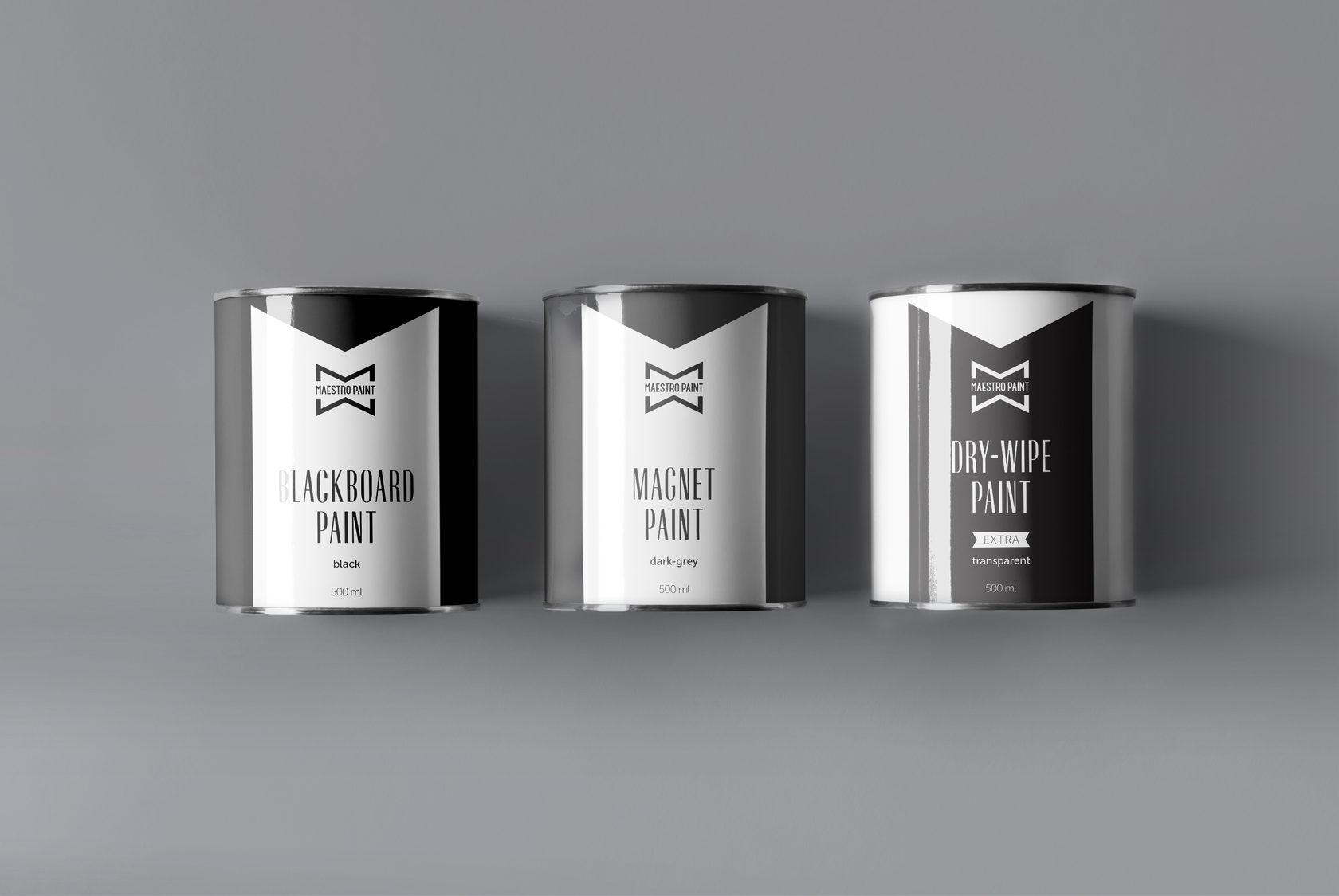 maestropaint packaging 500ml