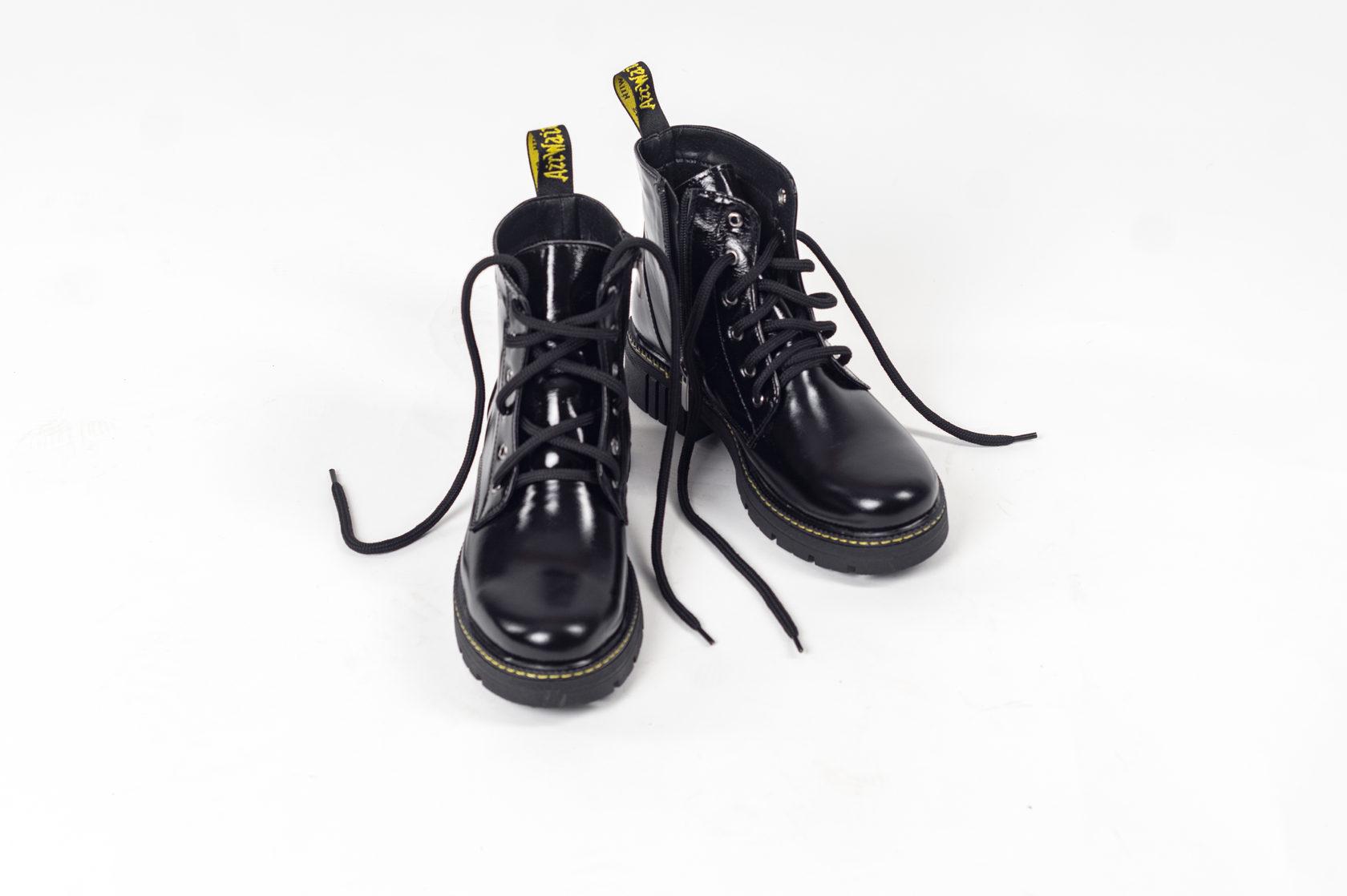 Демисезонные ботинки Boston 1460 *лаковые
