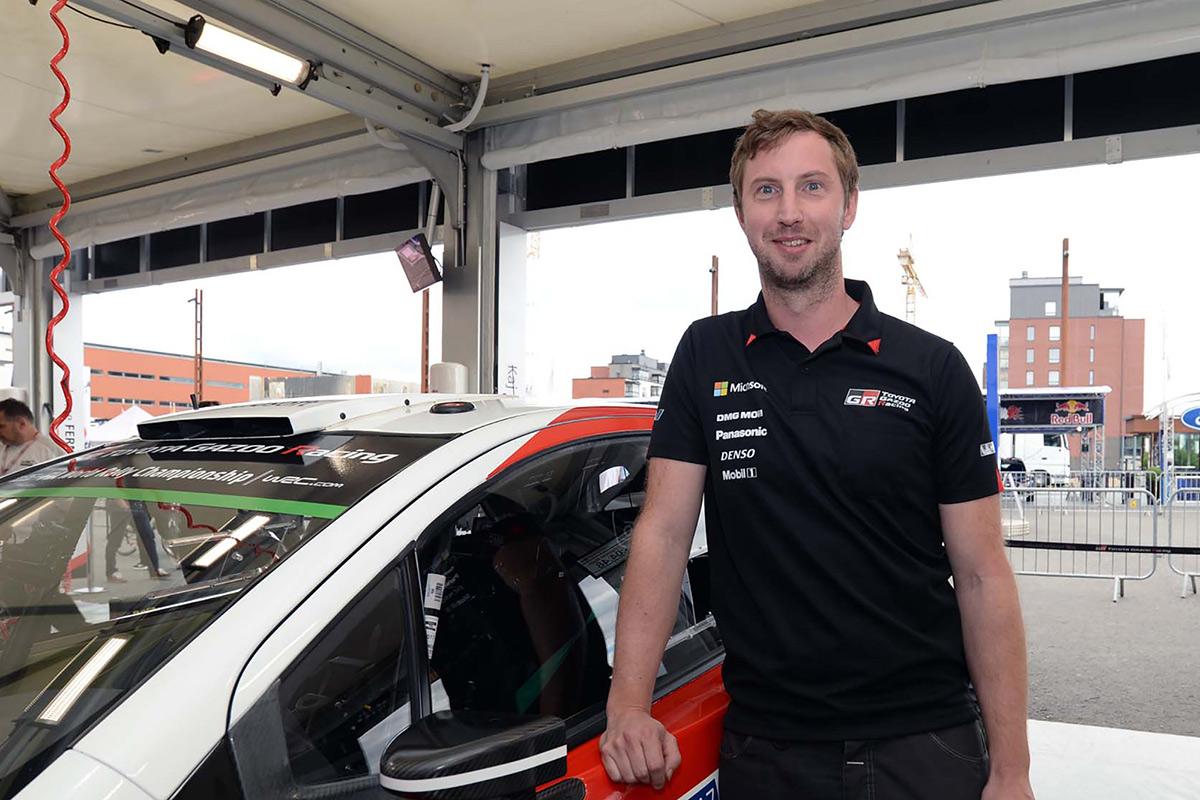 Технический директор Toyota Gazoo Racing Том Фаулер, ралли Финляндия 2017