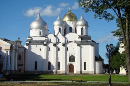 Софийский собор в Новгороде.