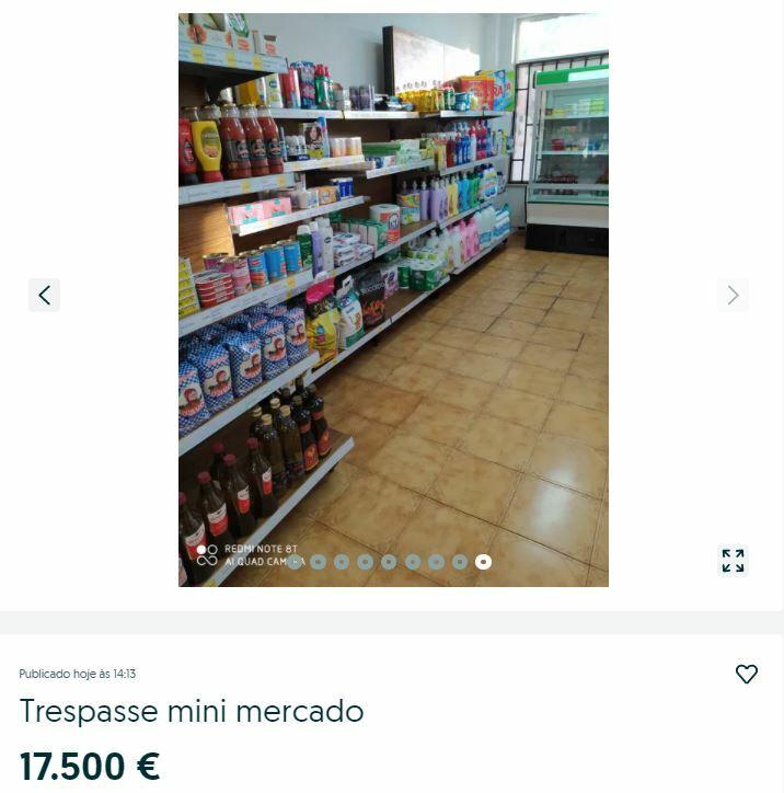 продуктовый магазин португалия