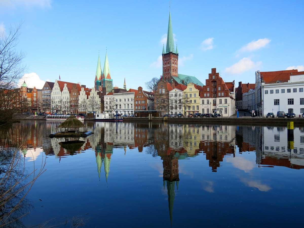 Книжный город Любек (Lubeck) в Германии