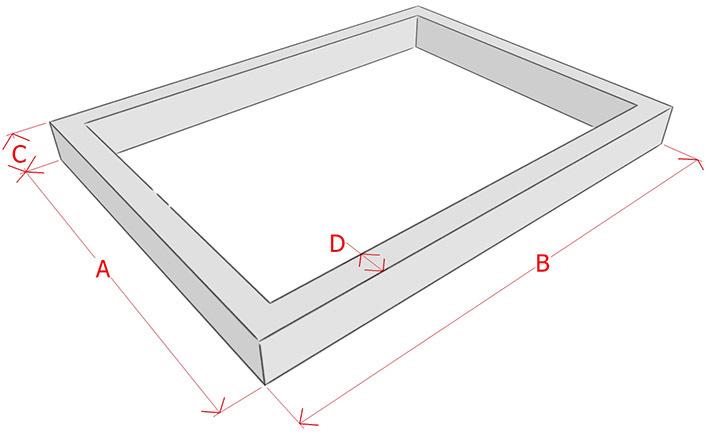 как рассчитать объем заливки фундамента