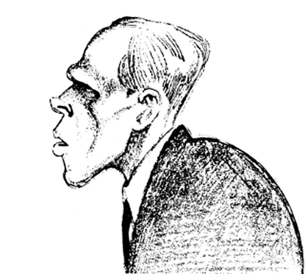Автопортрет Хармса