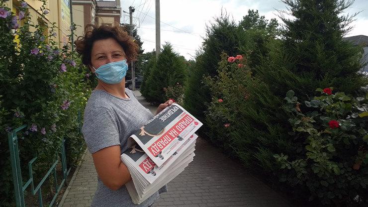Анна Стекольщикова, орговик ППШ Херсонской области - фото
