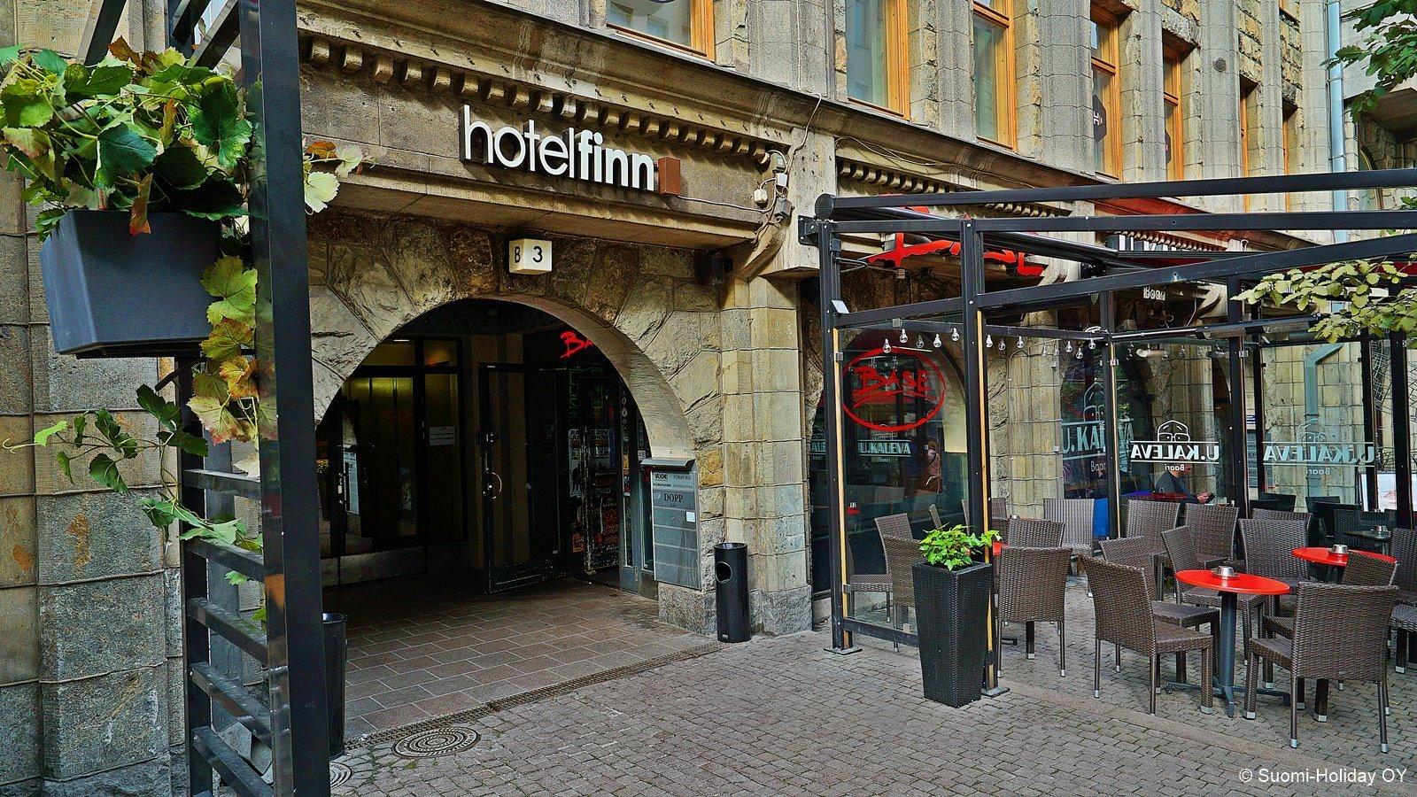 Недорогой отель в Хельсинки Hotel Finn