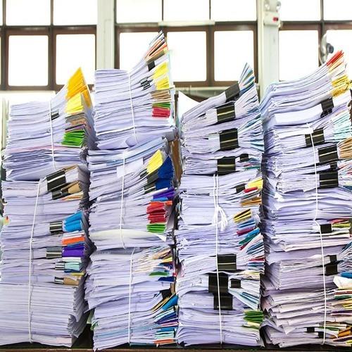 Хранение документов в контейнере 3,5 м2.