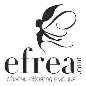 Онлайн магазин Efrea предлага дамски дрехи в 16 размера по европейска номерация и различни аксесоари