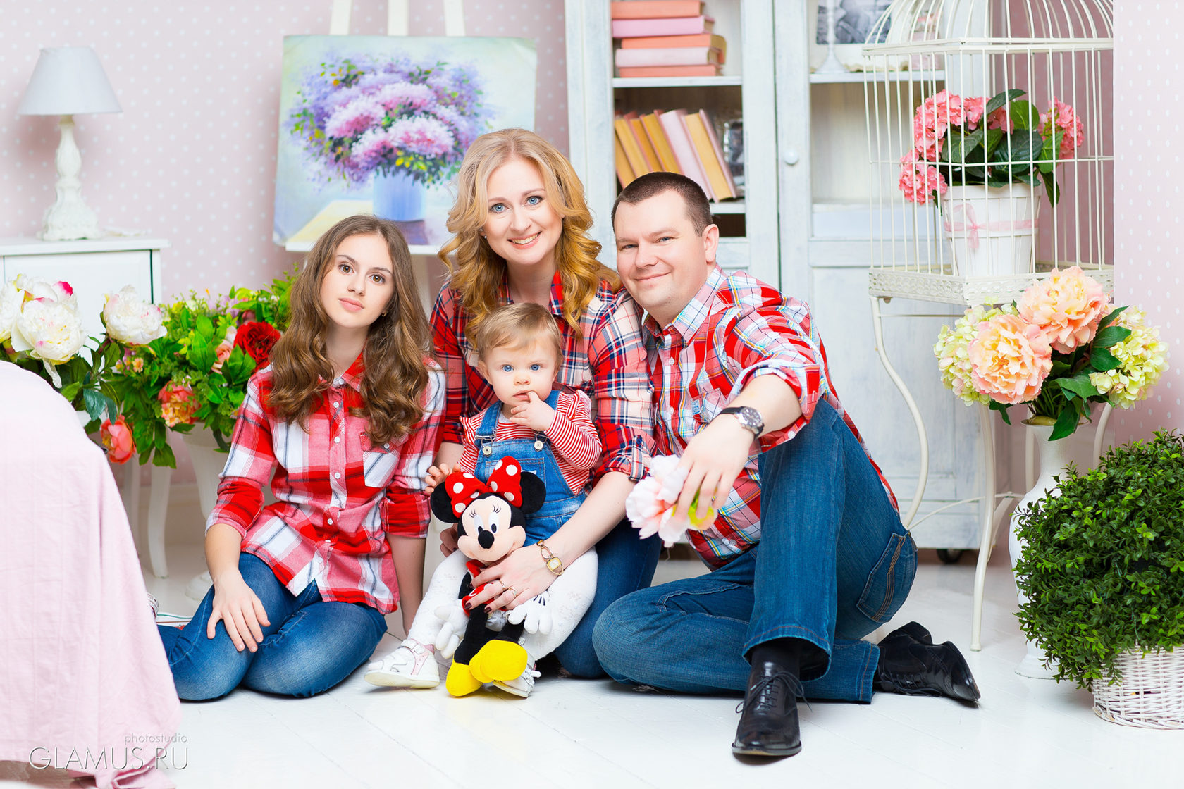 фотостудия для семьи спб меховую отделку