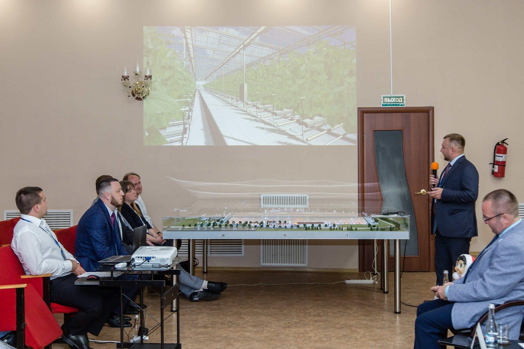 Презентация тепличного комплекса Кувшиновский