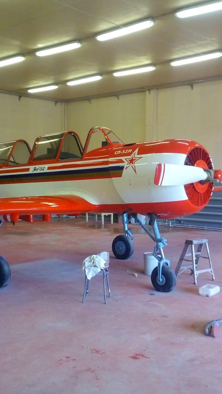 як-52, покраска як-52, схема окраски, покраска самолета, малая авиация, ливрея, дизайн самолета, перекрасить самолет, покрасить як-52