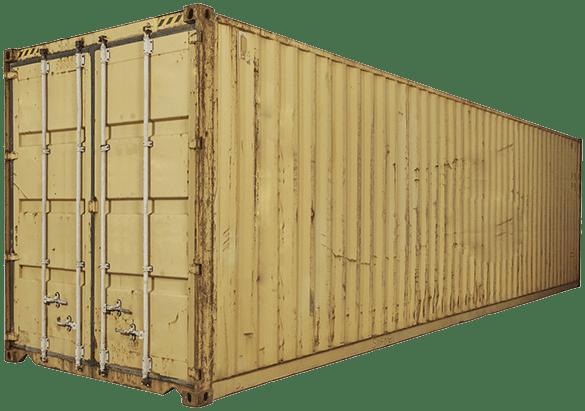 Б/У контейнер 40 футов высокий широкий HCPW