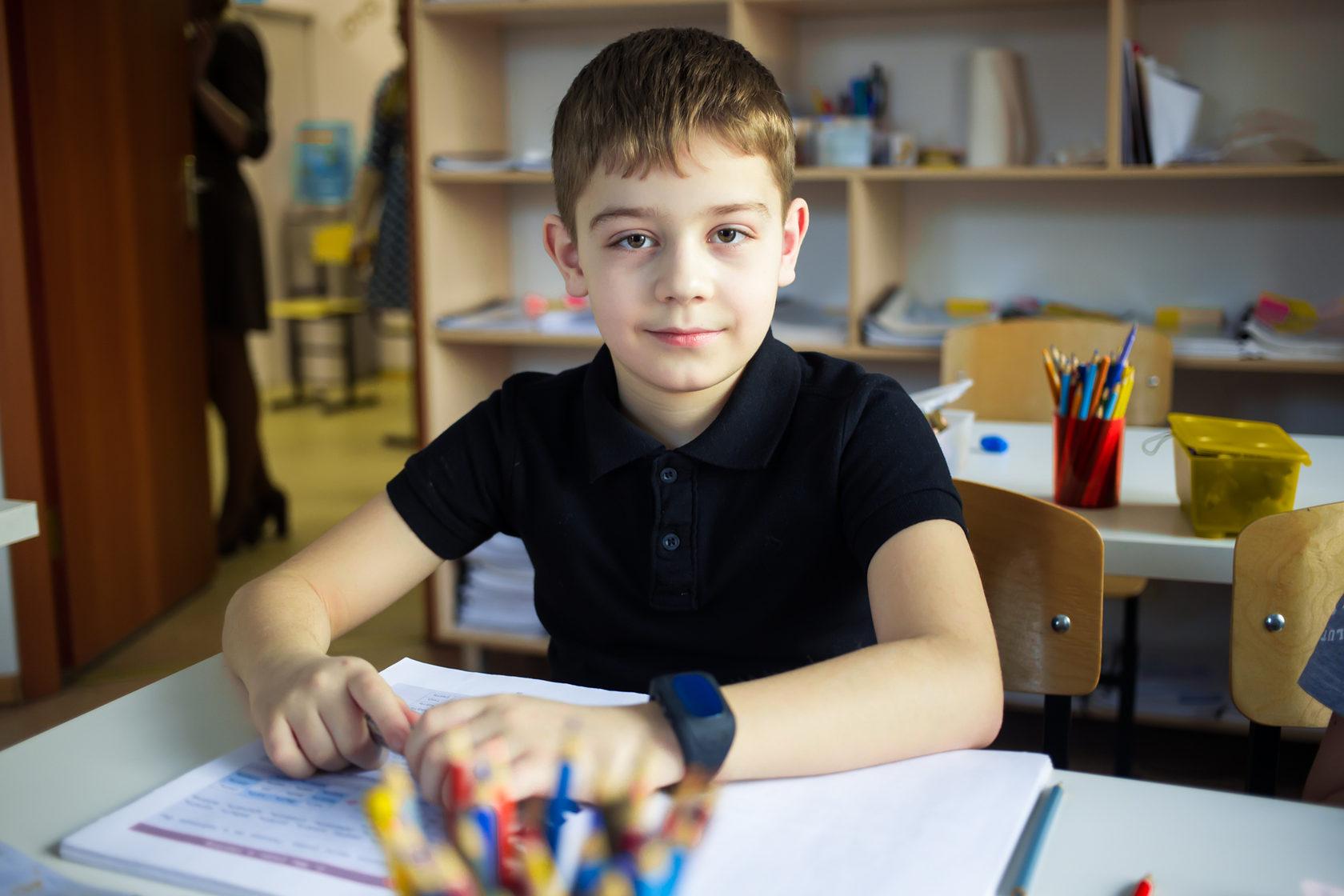 ученик курса развития для детей 11 лет