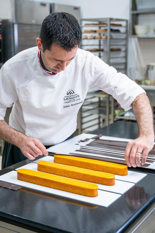 Croissant tart by Antonio Bachour