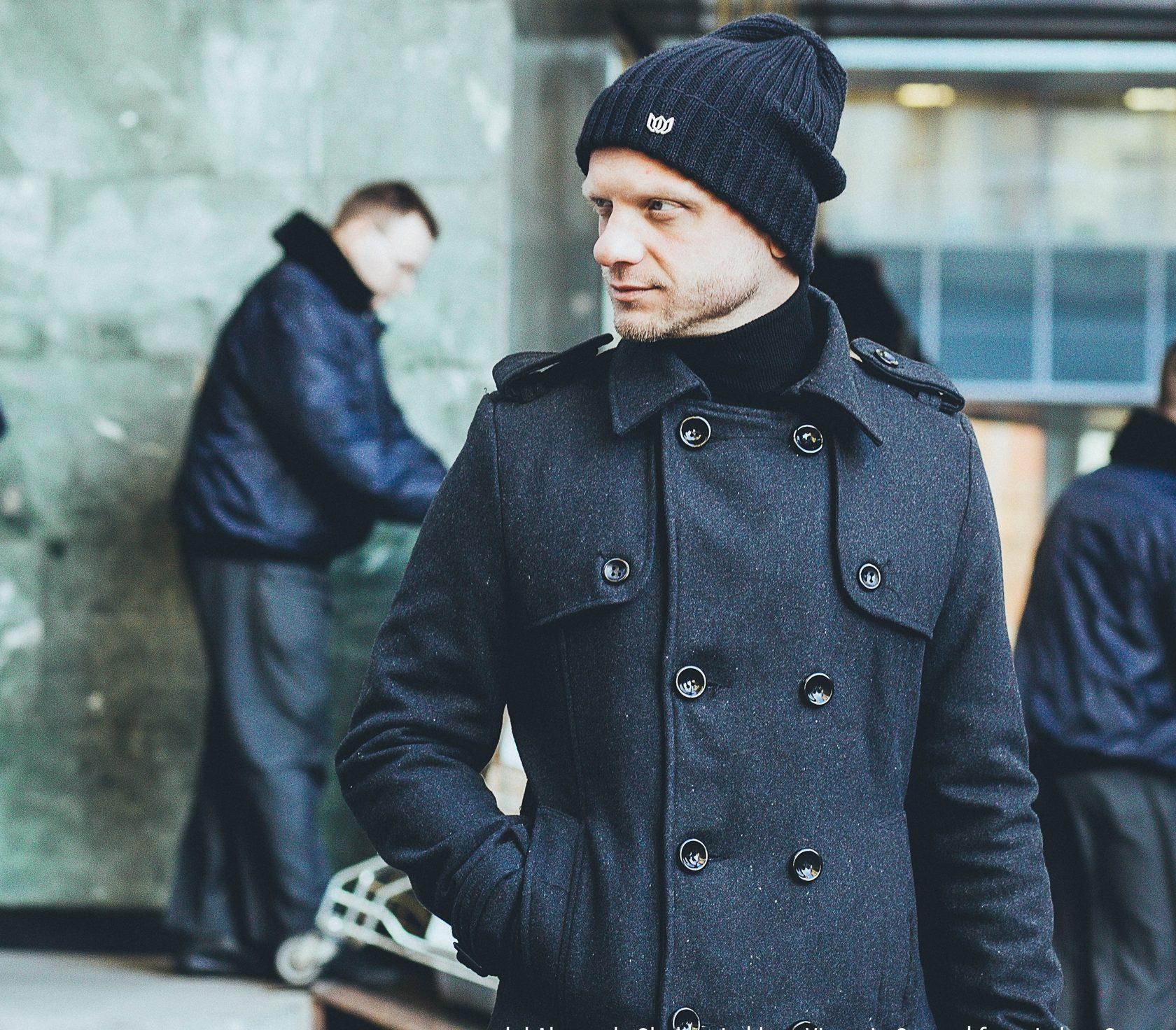 Киноактёр, showman Александр Шаляпин в шапке Victoria Queen