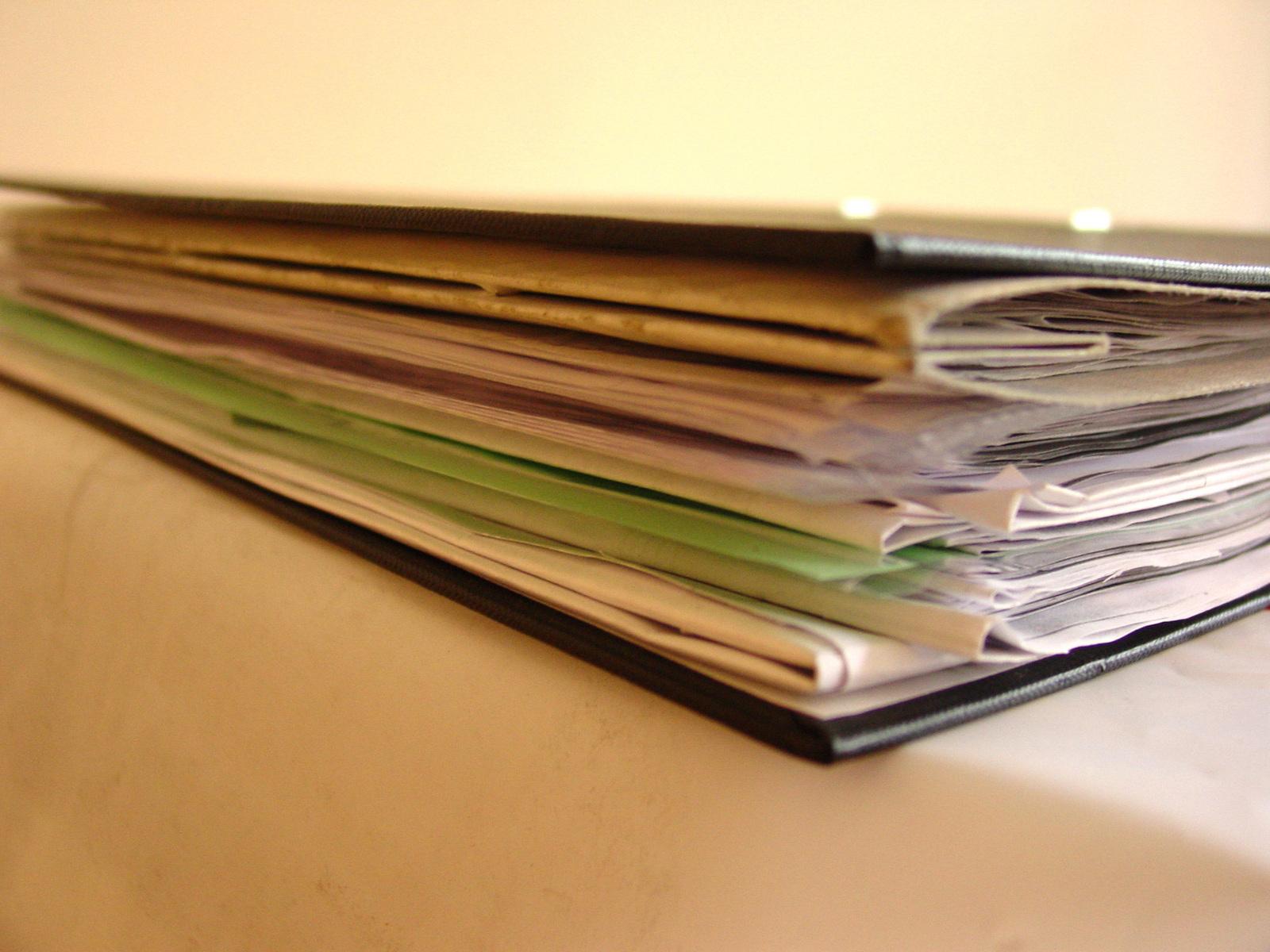 Архивный переплет документов для последующего хранения