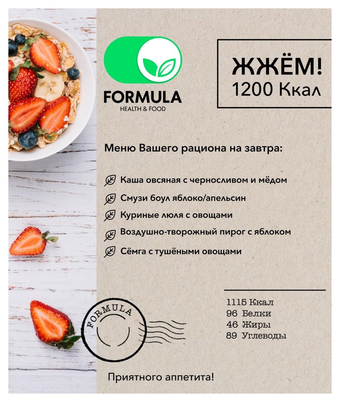 1200 калорий диета отзывы