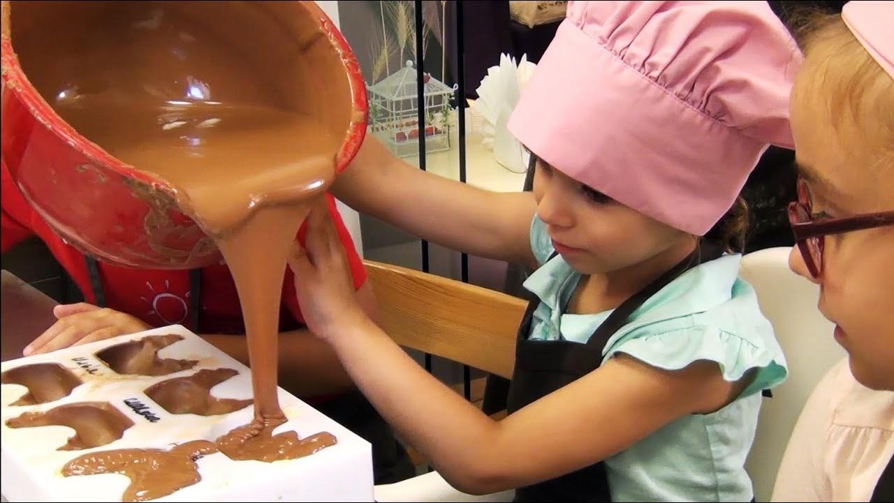 Мастер-класс по созданию шоколада