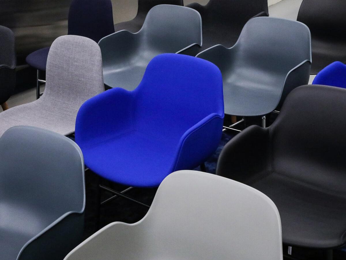 a Normann Copenhagen chair