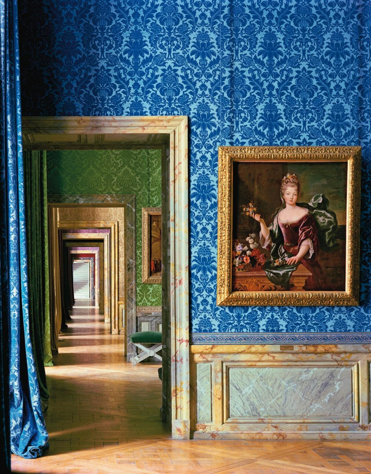Портрет Франсуазы-Марии де Бурбон, Версаль, 2003. Фотограф Роберт Полидори