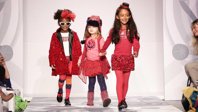 Показ детской одежды в Нью-Йорке