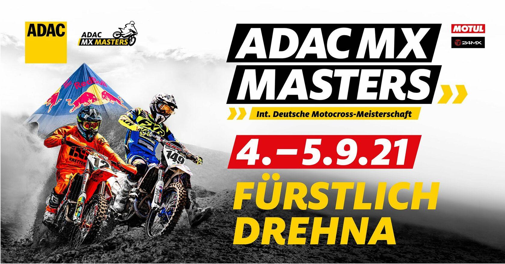 ADAC MX Masters 2021: Полное видео 4-го этапа в Drehna