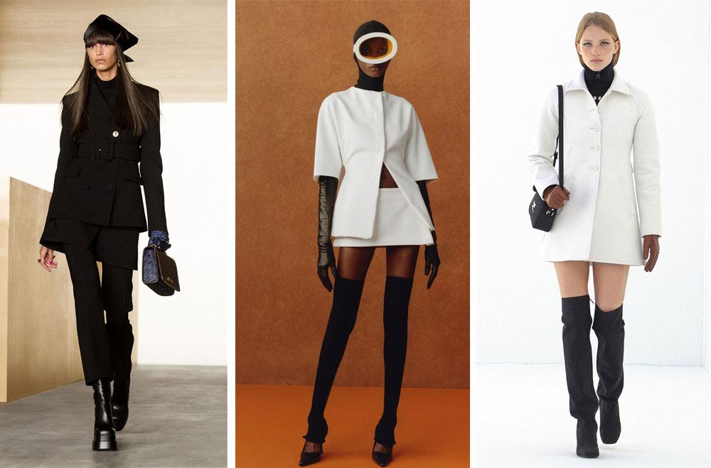 Елегантни дамски дрехи с изчистен силует като 60-те години на XX в. присъстват в модните колекции на световни дизайнери за 2021/2022
