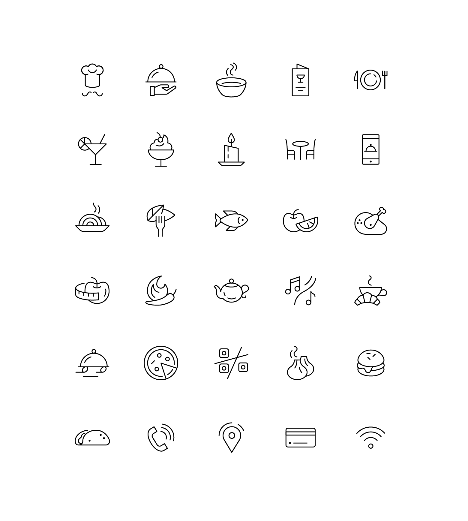 Free Icons Tilda Publishing