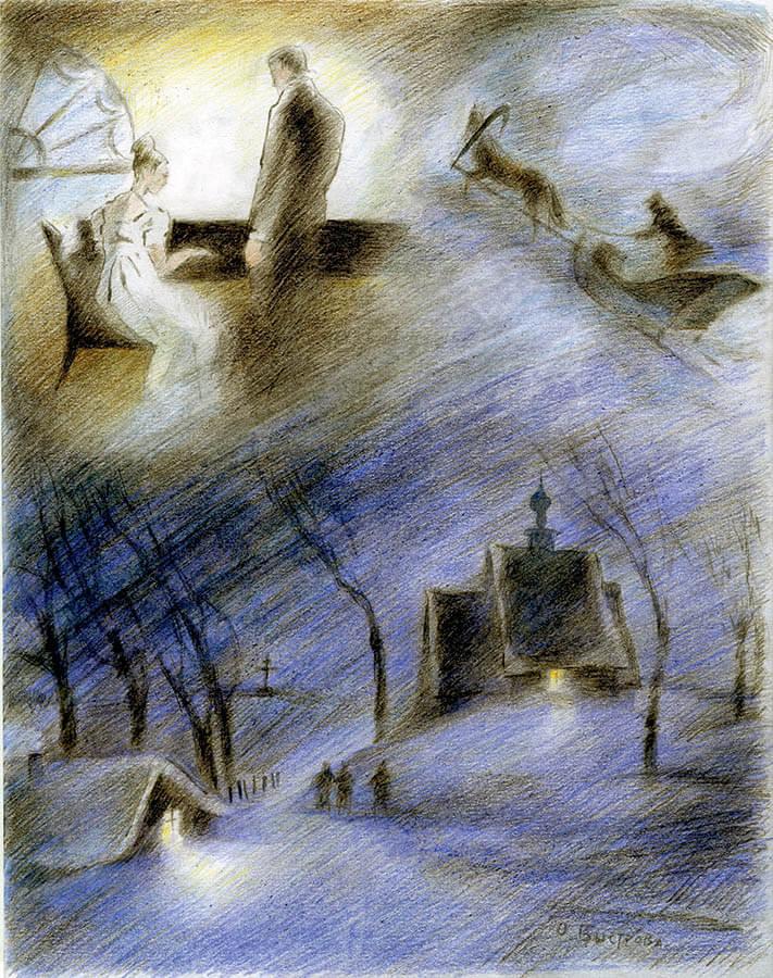 Иллюстрация: Ольга Быстрова-Эрри.