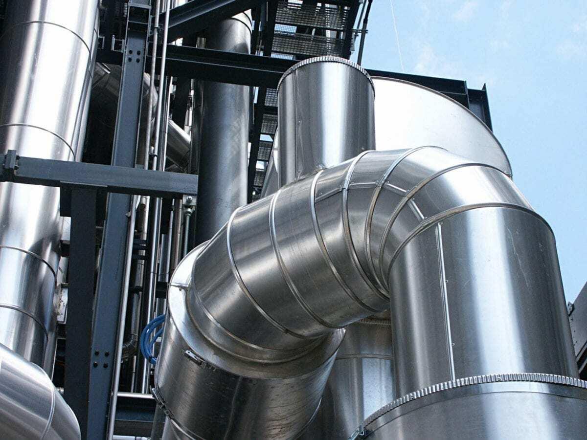 утепление трубопроводов с покрытием металлом