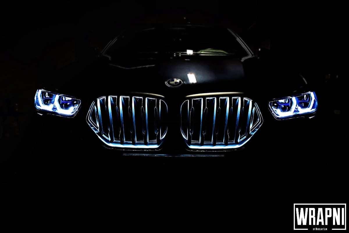 оклейка защитной пленкой кузова BMW