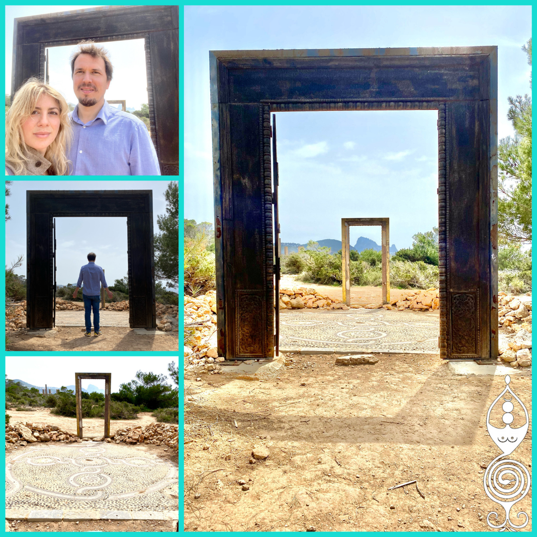 """Puertas Can Soleil"" a Ibiza"