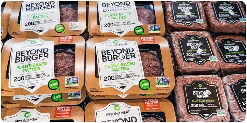В США за год количество домохозяйств купивших продукцию Beyond Meat увеличилось вдвое.