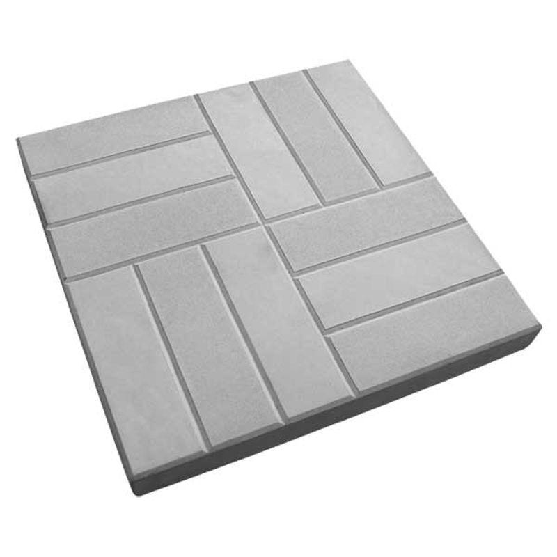 Тротуарная плитка 12 кирпичей 500*500*50