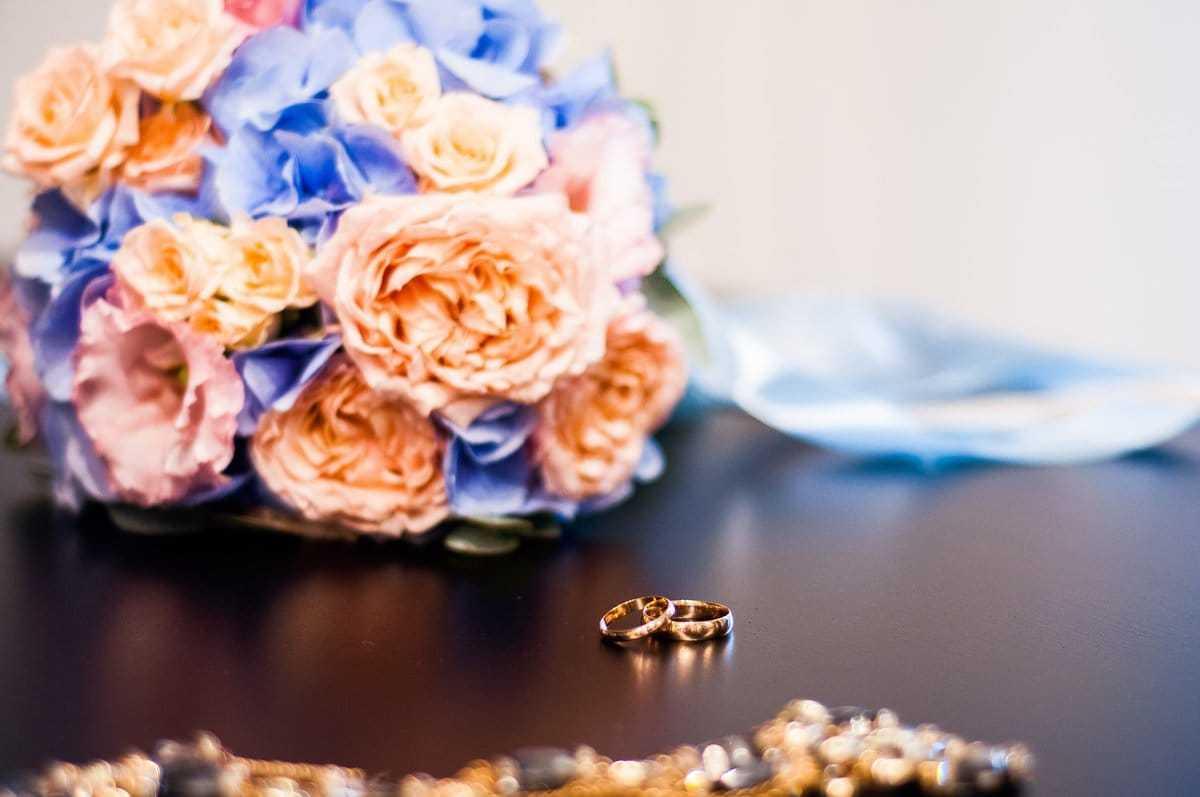Яркий свадебный букет. Фото 3