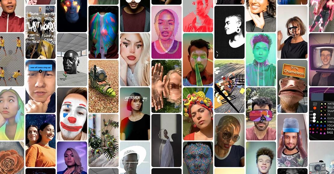 Эффекты Instagram и Facebook созданные в Spark AR