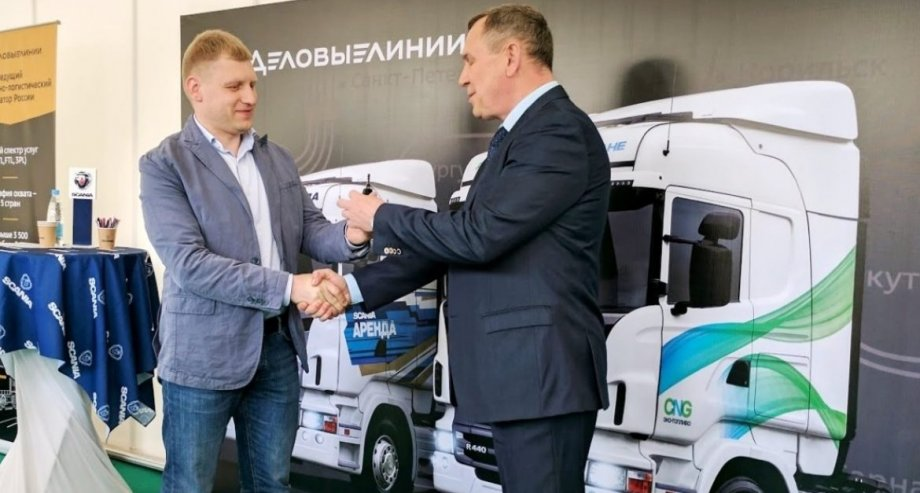 Поставщиком новой техники выступила «Скания Сервис» — официальный дилер Scania в Санкт-Петербурге (фото: «Скания-Русь»)