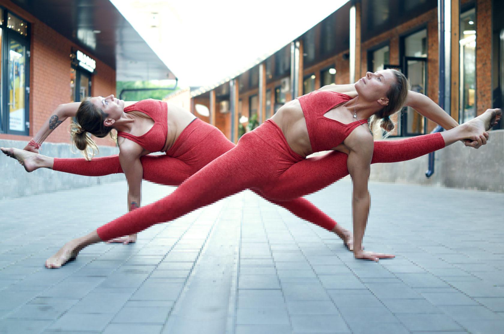 еще состоялась, фотосессия в стиле йоги для